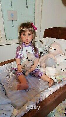 Brand NEW CUSTOM Gotz Happy Kidz Emilia, COMES WITH EXTRA, NEW OUTFIT