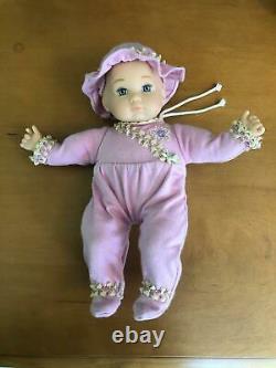 COMPLETE American Girl Baby Polly & Stroller, Felicity's Sister RETIRED SET