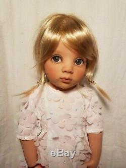 CUSTOM, OOAK, BRAND NEW Gotz Happy Kidz Emma, 19 Doll, New Eyes, New Wig