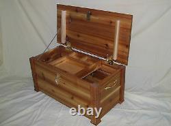 Cedar Hope Treasure Chest Toy Box Storage Trunk Great Size 4 American Girl Doll
