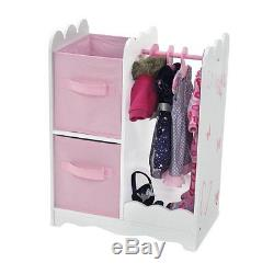 Closets For Dolls American Girl Wardrobe For 18 Inch Dolls Dollhouse Furniture