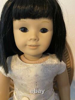 Custom retired American Girl Doll Black Hair Just Like You (JLY) #4 Asian