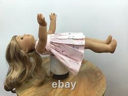 Ella Custom OOAK American Girl Doll Aquamarine Eyes Blonde Wavy Hair Jess Mold