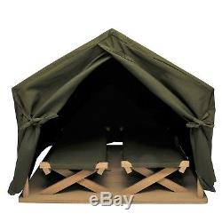 Gombe Rainforest 18 Doll Camp Tent &Cot Fits American Girl Furniture &Accessory