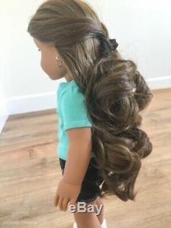 Gorgeous OOAK Custom American Girl Doll Med Skin Brwn Hair Lt Eyes DOLL RETIRED
