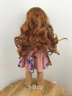 Hanna Custom OOAK American Girl Doll Hazel Eyes Red Hair Blaire Grace Freckles