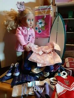 Huge Lot American Girl Clothing Shoes Accessories Armoire Our Generation Doll