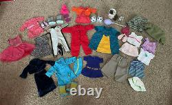 Huge Lot of American Girl Pleasant Company Doll Clothes Outfits and Accessories