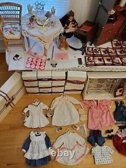 Huge Vintage American Girl Doll Samantha Parkington Lot Retired Pleasant Company