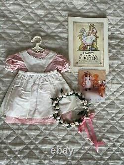 Kirsten American Girl Doll, white body, circa 1989, original braids