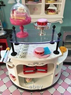 LOCAL PICKUP american girl grace bakery plus 11 grace items (pastry cart, etc)