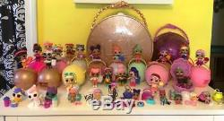 LOL Surprise doll LOT 34 Dolls. Perfect Displayed Condition, little sisters Pets