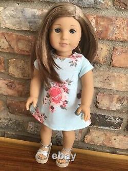 Lark Custom American Girl Doll OOAK Caramel Blonde Hair Grey Eyes Asian CYO