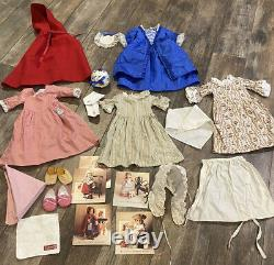 Lot American Girl Pleasant Company Felicity Doll Clothes Accessories Winter