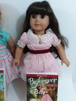 Lot of 3 18 American Girl Dolls Samantha, Maryellen, Just Like Me + Bitty Baby