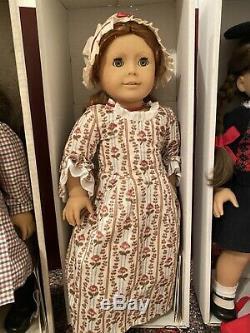 Lot of Pleasant Company American Girl Dolls + Kirsten Samantha Molly Felicity