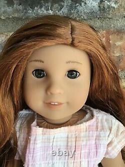 Miriam Custom American Girl Doll OOAK Red Wavy Hair Hazel Eyes Asian Ivy