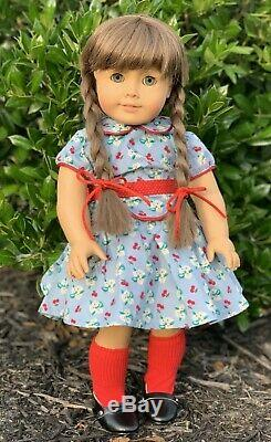 Molly White Body Pleasant Company American Girl Vintage 18 Doll GORGEOUS HAIR