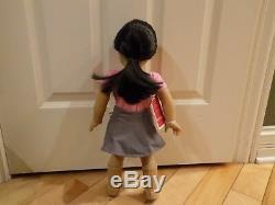 My American Girl 18 #25 Doll Light Skin Long Black Hair, Brown Eyes NEW in Box