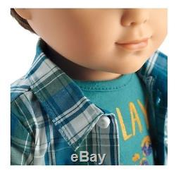 NEW American Girl Doll First Boy Doll LOGAN EVERETT 18 Boy Doll -FAST SHIP