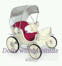 NEW American Girl Doll Pretty City Carriage Holiday Christmas Caroline