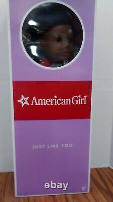 NEW American Girl MyAG Doll #1 Textured Hair/Brown Eyes/Dark Skin AA NIB-Retired