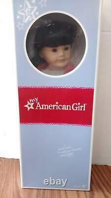 NEW American Girl MyAG Doll #4 Asian Black Hair/Brown Eyes NIB-Retired has X
