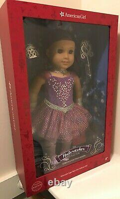 NEW American Girl Nutcracker Sugar Plum Fairy Limited Edition Collector Doll