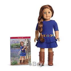 NEW IN BOX American Girl SAIGE 18 DOLL of 2013 BOOK RING + Bonus Catalog Sage
