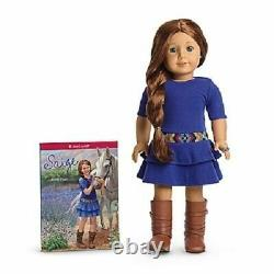 NEW IN BOX American Girl Saige 18 2013 Doll COMPLETE with Book Ring Earrings Sage