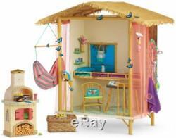 NEW IN BOX Lea Clark RAINFOREST HOUSE HUT American Girl Doll Kanani blaire nanea