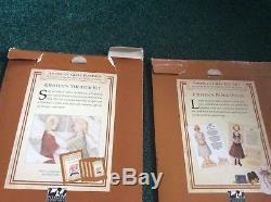 NEW With boxes American girl pleasant Company Kristen excellent condition rare lot