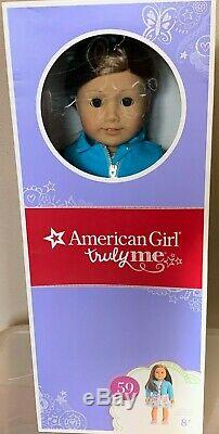 NEW in Box American Girl Truly Me #59 18 Doll Light Skin Brown Hair & Eyes