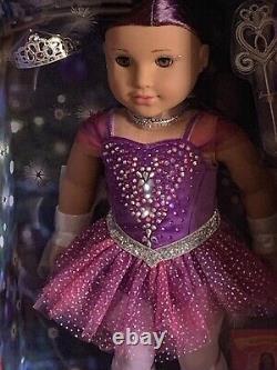 NIB AMERICAN GIRL NUTCRACKER LIMITED SUGAR PLUM FAIRY DOLL Swarovski Crystals