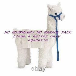 New American Girl Chrissa Pet Llama Starburst NO BOOKMARKS NO PARADE PACK
