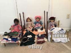 Original Pleasant Company, American Girl Sets -Samantha, Addy, Kirsten, Felicity