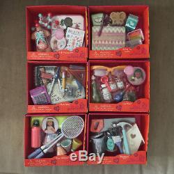 Our Generation Fits 18 American Girl Dolls Lot of 6 Accessory Sets For School