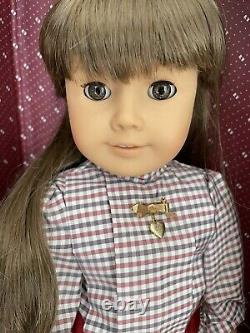 PLEASANT COMPANY American Girl Samantha LOT EARLY DOLL withTrunk & Accessories