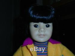 Pleasant American Girl Doll ASIAN Retired Rare with Clothes 149/76