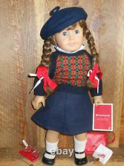 Pleasant Company 1986 Molly 1st Issue White body with Comp Outfit & Meet Access