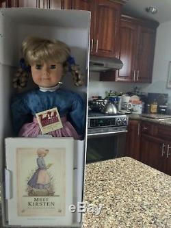 Pleasant Company American Girl Doll Kirsten NIB Signed by Pleasant T Rowland