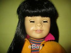 Pleasant Company American Girl Doll Of Today #4 Asian Black Hair Dark Brown Eyes