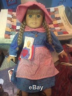 Pleasant Company American Girl Kirsten Doll SIGNED with accessories, Huge Lot
