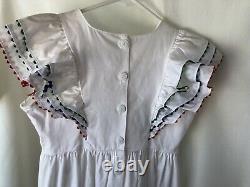 Pleasant Company American Girl MOLLY BIRTHDAY DRESS for GIRLS SZ, 10 RARE