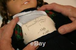 Pleasant Company American Girl MOLLY doll SIGNED MIB w Certificate Authenticity