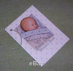 Pleasant Company American Girl OUR NEW BABY 1st Bitty Doll Made in Germany Box