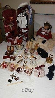 Pleasant Company / American Girl Samantha + Rare Accessories Lot