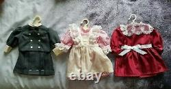 Pleasant Company American Girl Samantha doll with outfits, accessories, & books