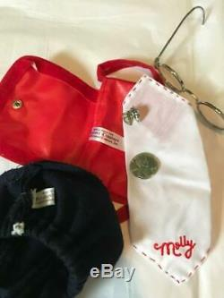 Pleasant Company American Girl White Body Molly with Meet Outfit & Accessories