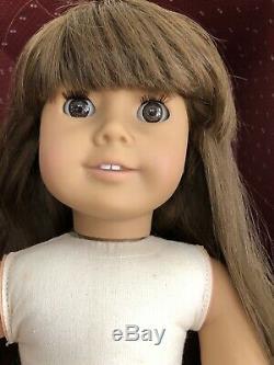 Pleasant Company American Girl White Body Samantha Steamer Trunk LOT